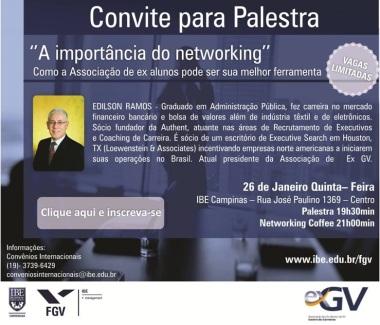 Convite IBE e Edilson